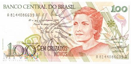 Brazylia - 100 cruzados novos (1989)
