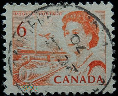 Kanada 6c Elżbieta II