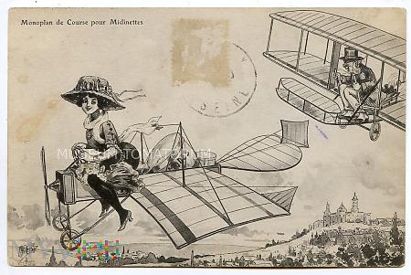 Pocztówka artystyczna - 1910
