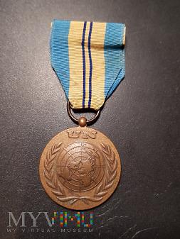 Medal UNEF II- nadany Polskiemu Żołnierzowi