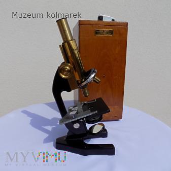 Mikroskop H.Kolberg i S-ka Warszawa
