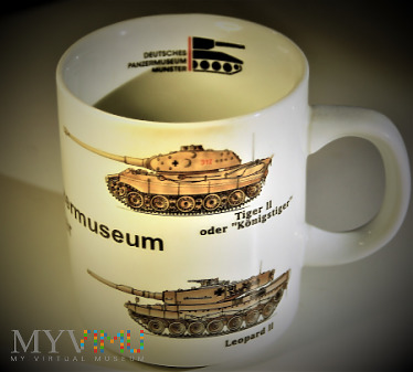 Deutches Panzer Museum- Munster. Kubek- pamiątka.