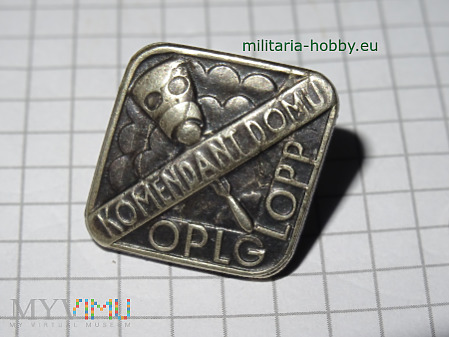 Odznaka Komendant Domu LOPP