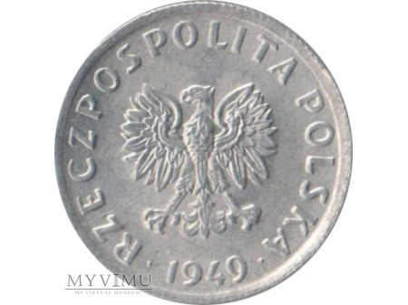 5 groszy 1949 rok Al
