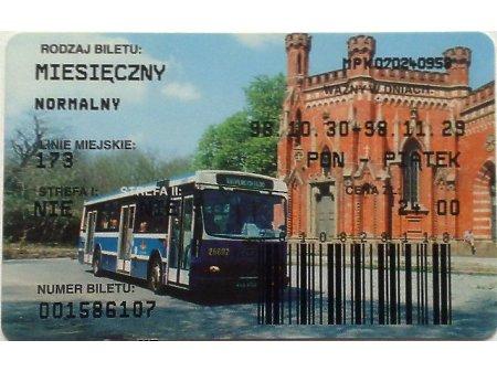 Bilet MPK Kraków 59