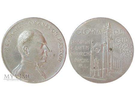 Pastor Karl Johansson medal 1928