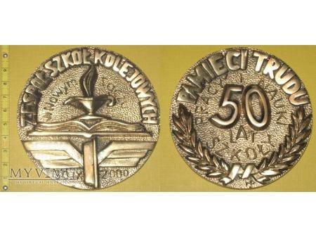 Medal kolejowy - usługowy ZSK w Nowym Sączu
