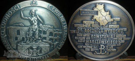 032. 65 rocznica Powstania Warszawskiego