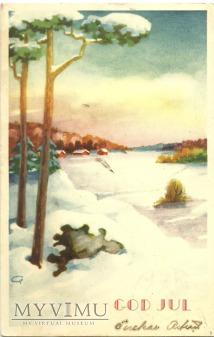 Wesołych Świąt - Szwecja -1949 r.