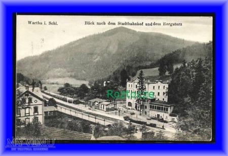 BARDO Wartha i. Schlesien, Dworzec kolejowy