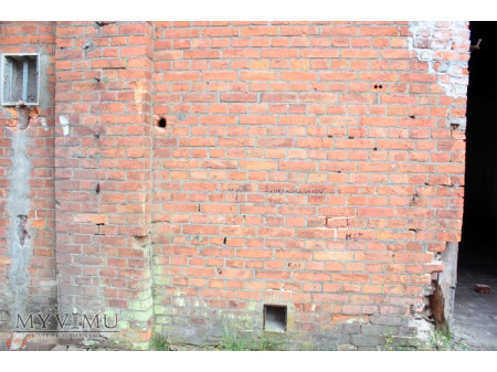 """""""Stara Prochownia"""" - budynek B - inskrypcja #014"""