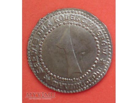 moneta do identyfikacji WYKOPANA z ziemi