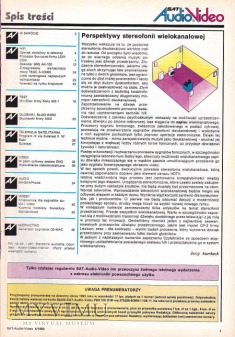 SAT AUDIO VIDEO 1993 rok, cz.I