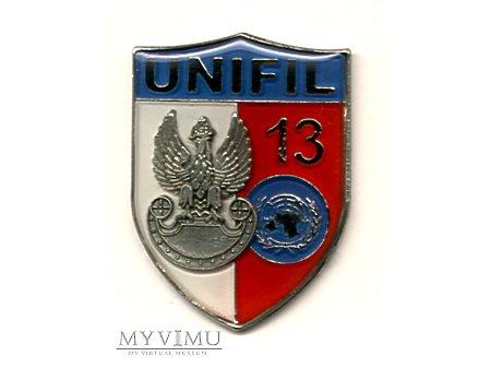 13 zmiana Polskiego Kontyngentu UNIFIL