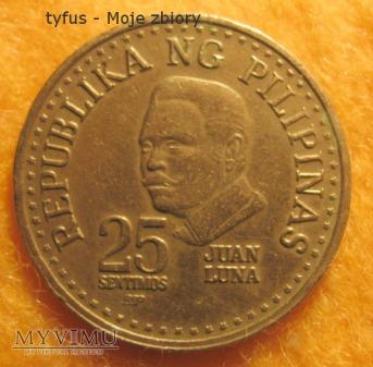 25 SENTIMOS - Filipiny (1982)