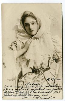 Duże zdjęcie 1901 Reutlinger nieznana aktorka do identyfikacji