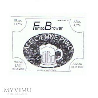 ale ciemne piwo