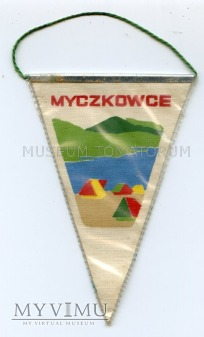 Proporczyk souvenir - Polska Bieszczady Myczkowce