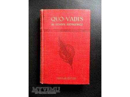 Quo Vadis 1897