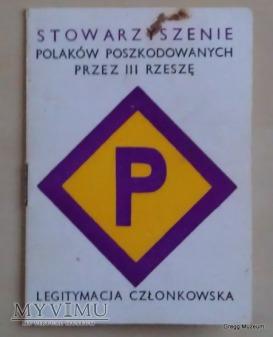 LEGITYMACJA CZŁONKOWSKA POLAKÓW....