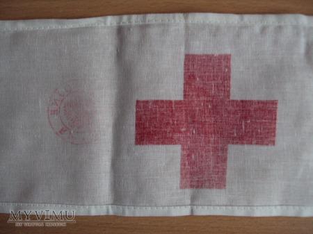 Opaska sanitariusza Sił Zbrojnych RP