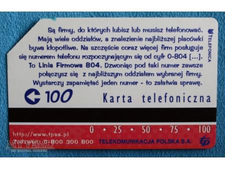Linia firmowa 804