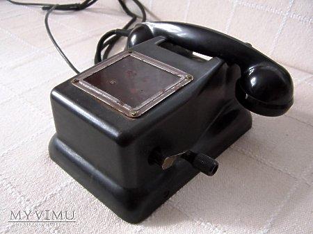 Duże zdjęcie Aparat telefoniczny MB 56 z 1975 roku.