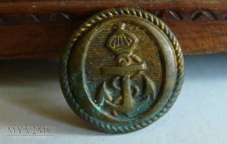 Duże zdjęcie Francja - guzik marynarki II Cesarstwo