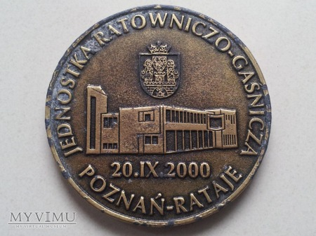 Jednostka Rat.- Gaśn. Poznań Rataje