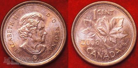 Duże zdjęcie Kanada, 1 CENT 2008