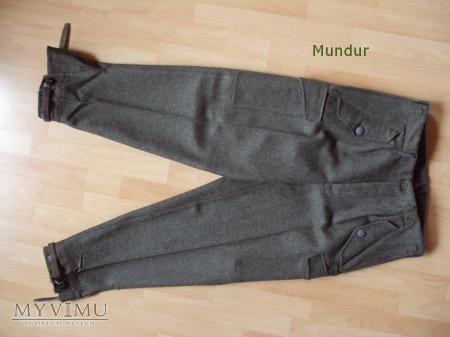 Szwecja: spodnie m/58