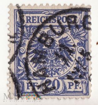 Republika Weimarska 1921 , Reichspost 20pf