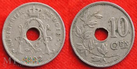 Belgia, 1922, 10 centimes