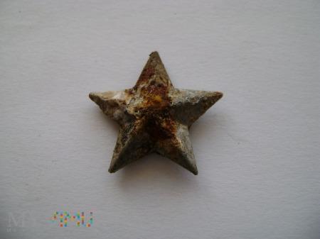 gwiazdka włoska z pagonu aluminiowa