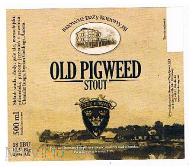 old pigweed