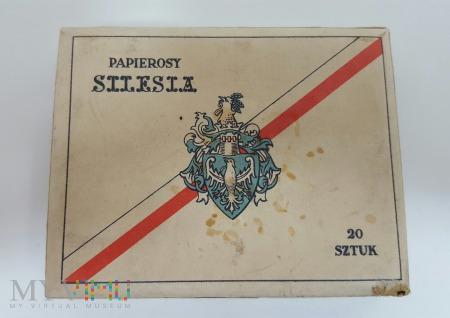 Papierosy SILESIA 20 szt. 1939 rok PMT