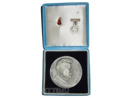 Medal srebrny Jana Janskiego (Janského plaketa)