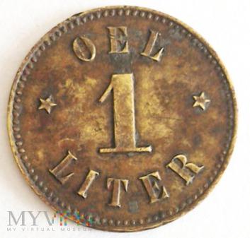 Duże zdjęcie Moneta zastępcza 1 litr oleju - Ballestream
