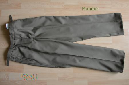 Spodnie damskie wyjściowe oficerskie wojsk lądow.