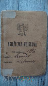 książeczka Wojskowa 33/21pp