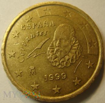 Hiszpania 10 Centów 1999