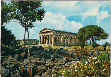 Paestum - Świątynia Neptuna - lata 70-te XX w.