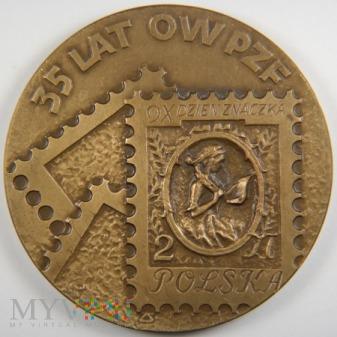 1985 - 82/85 - 35 lat Okręgu Warszawskiego PZF