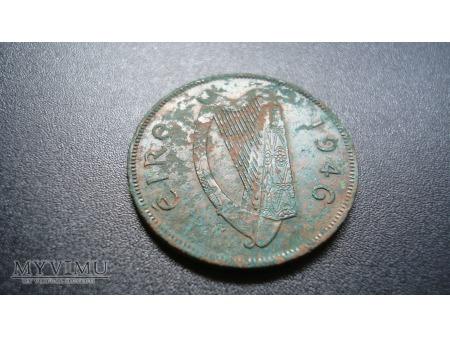 Irish penny 1946