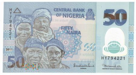 Nigeria - 50 naira (2011)