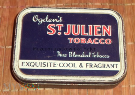 Duże zdjęcie Ogden's St. Julien Tobacco - puszka