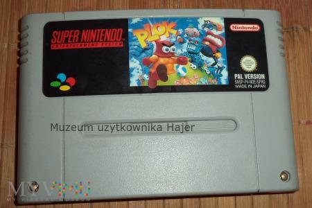 Plok  - gra SNES Nintendo