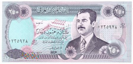Irak - 250 dinarów (1995)