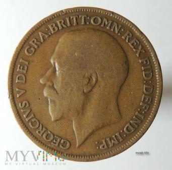 Moneta 1 Pens 1914 Jerzy V One Penny