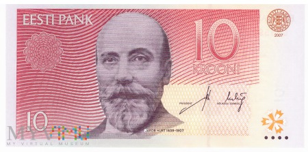 Estonia - 10 koron (2009)
